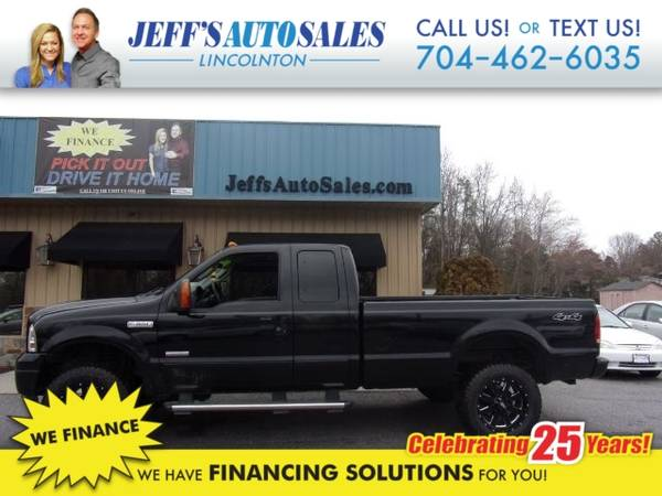 Photo 2006 Ford Super Duty F-350 SRW XLT SuperCab Long Bed 4WD - Down Paymen (Down Payment)