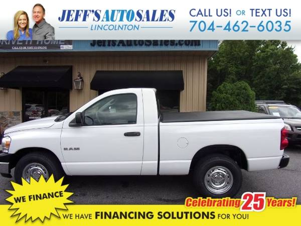Photo 2008 Dodge Ram 1500 ST 2WD - Down Payments As Low As $1000 (Down Payment)