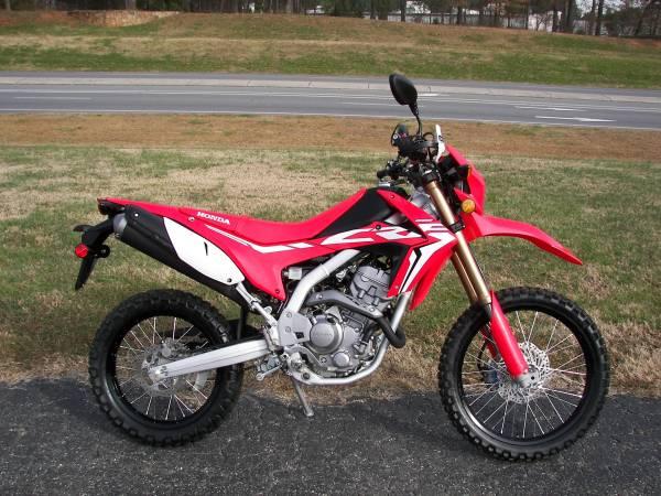 Photo 2020 Honda CRF 250L - $5,099 (Shelby)
