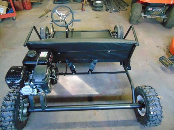 Photo 2 seater go kart - $850 (conover)