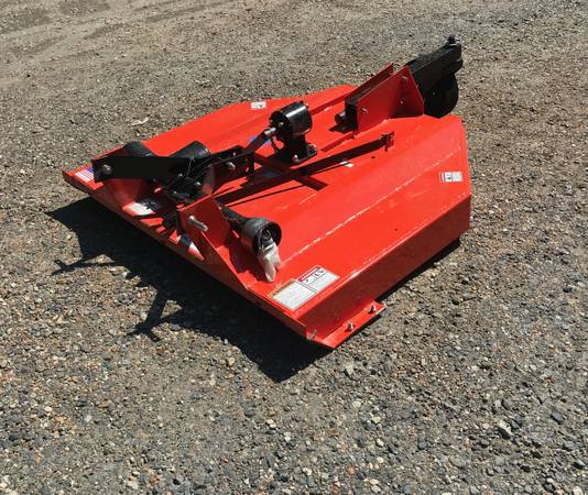 5 Ft Bush Hog Rotary Cutter Farm Tractor Mower For