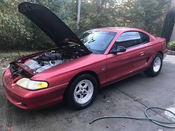 Mustang Terminator Intercooler