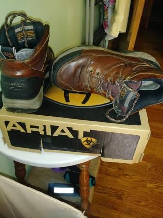 Photo Ariat boots - $40 (Statesville)