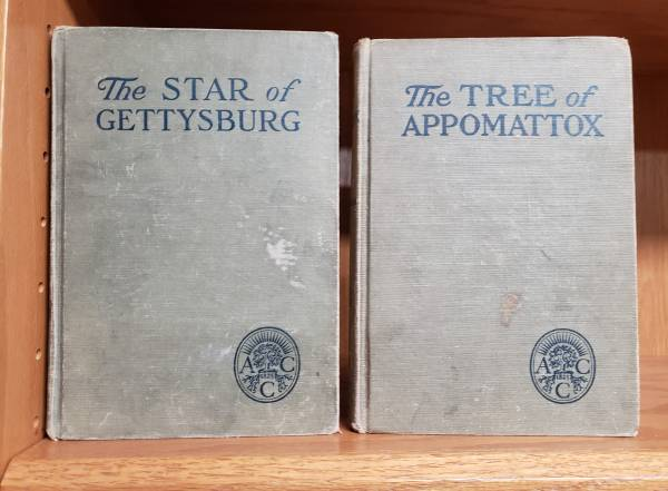 Photo Civil War Historical Fiction  Star of Gettysburg - Tree of Appomattox - $6 (South Charlotte)