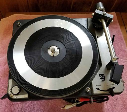 Photo Dual 1019 Turntable Made in Germany - $80 (Hickory)