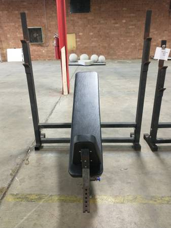 Photo Incline Olympic Bench - Used - $225 (Hickory)