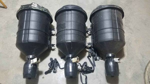 Photo Moultrie 15 Gallon Directional Deer Feeders Set of 3 - $75 (Statesville)