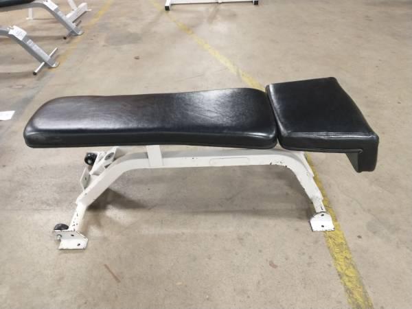 Photo Nautilus Flat Bench - Used - $100 (Hickory)