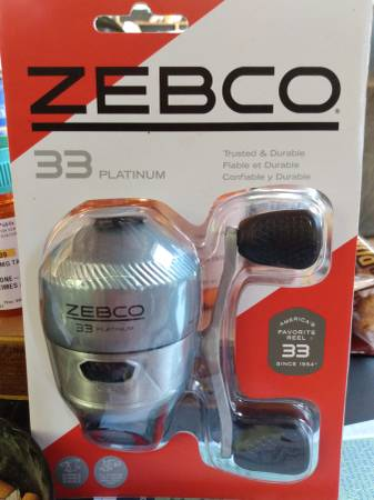 Photo New ZEBCO 33 PLATINUM FISHING REELS - $25 (Stony Point)