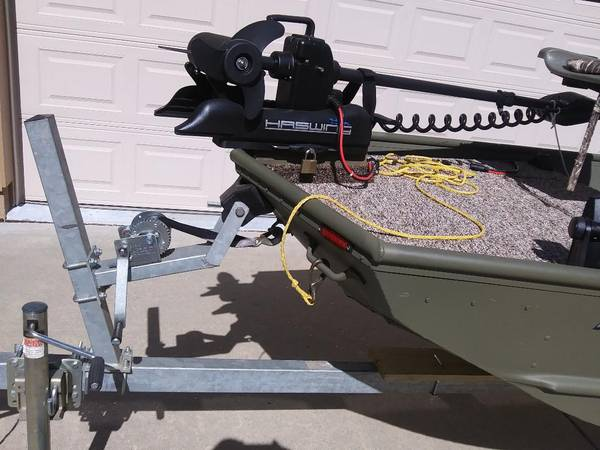 Photo New boat, motor  trailer - $11,000 (Huntersville)