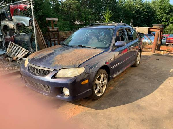 Photo PARTING OUT 03 MAZDA PROTEGE 5 WAGON 2.0 AUTO GOOD ENIGNE TRANSMISSION (FOREST CITY NC)