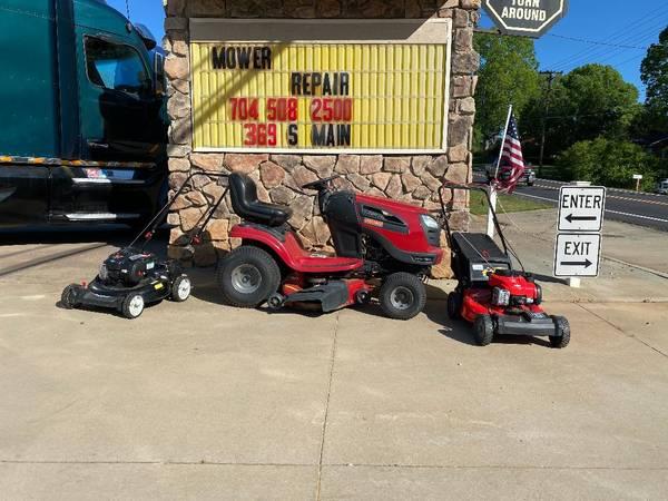 Photo Riding Mower, Lawn Mower, Lawnmower, Push Mower Mower Mower Repairs - $65 (Troutman)