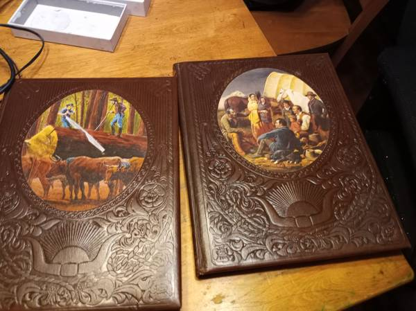 Photo The old west books mint condition - $45 (Medford acres)