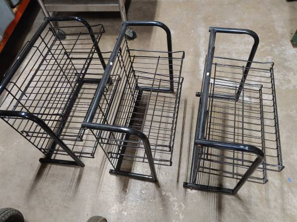 Photo Three 3 Tier Chip Bag  Snack Merchandiser Convenience Store Racks - $20 (Greenville)