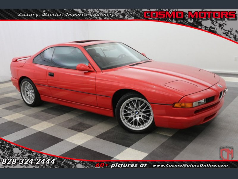 Photo Used 1992 BMW 850i  for sale
