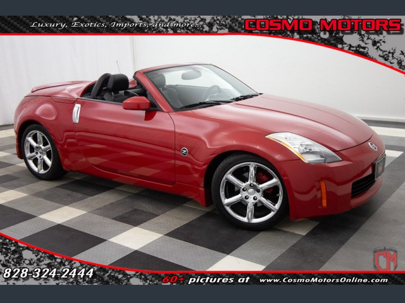 Photo Used 2005 Nissan 350Z Touring Roadster for sale