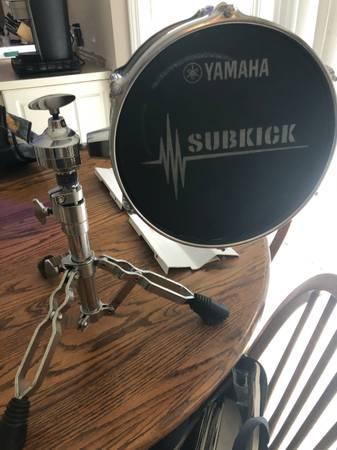 Photo Yamaha Subkick - $350 (Hickory)