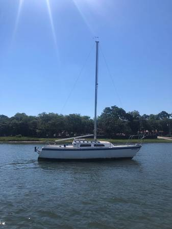Photo 1978 Oday 22 Sailboat with motor - $500 (Beaufort)