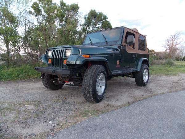 Photo 1994 Jeep Wrangler Sahara - $4995 (Beaufort)