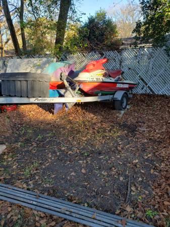 Photo 2 97 gsx on dual trailer - $1200 (Beaufort)