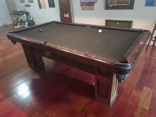 Photo American Heritage billiards table - $900 (Pawleys island)