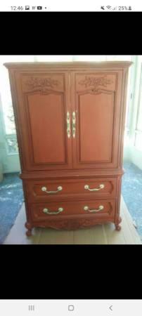 Photo Antique Armoire dresser - $80 (Varnville)