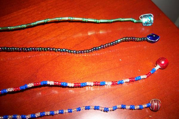 Photo Beaded bookmarks, new, hand made in the USA - $3 (ne Columbia)