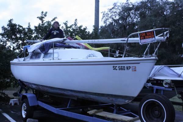 Photo Catalina 22 sailboat - $3500 (Port Royal)