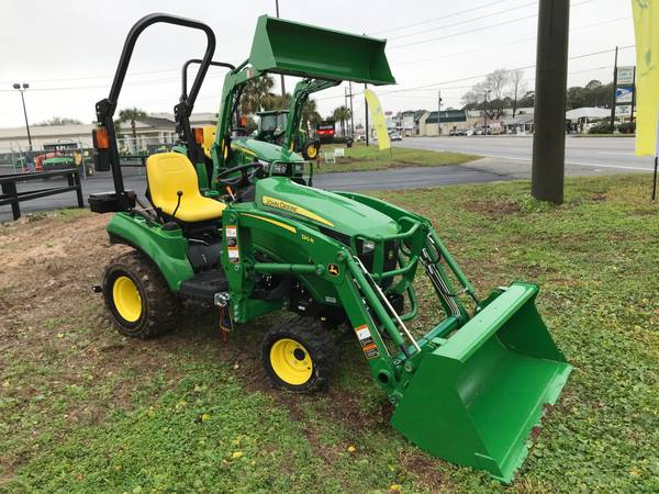 Photo JOHN DEERE 1023E TRACTOR W LOADER - $13,600 (CALL JASON  9126023640)