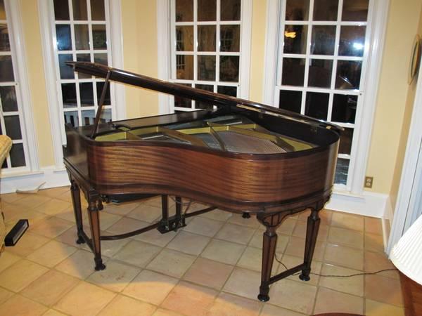 Photo J.  C. Fischer Ampico Baby Grand Player Piano - $2350 (Savannah)