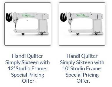 Photo Long Arm Quilting Machines - New  Used - Best Pricing Guaranteed (Charleston)
