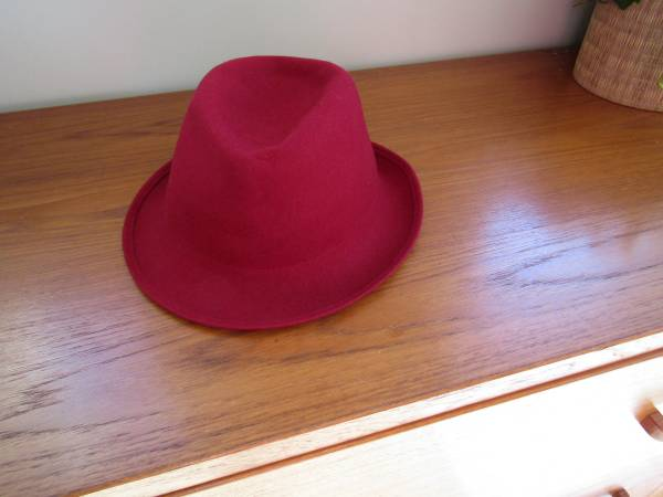 Photo NWT Daniele Meucci Red Wool Hat Made in ITALY - $35 (Moss Creek)