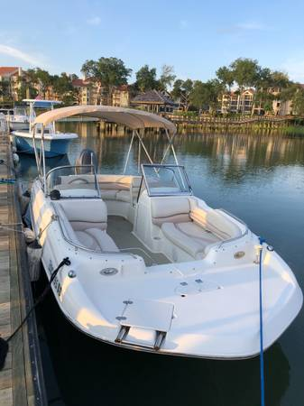 Photo Nautic Star Deck Boat - $9,950 (Hilton Head Island)
