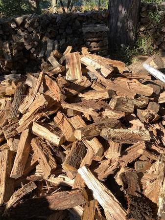 Photo Split Seasoned Live Oak firewood Highest BTU39s - $175 (Johns Island)