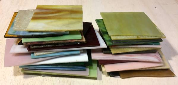 Photo Stained Glass Sheets 5 pounds - $50 (Bluffton)