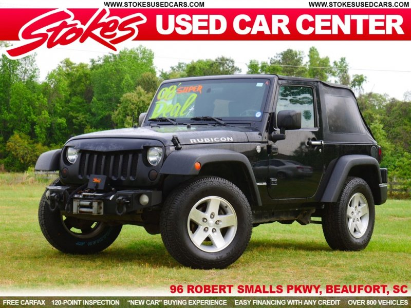 Photo Used 2008 Jeep Wrangler 4WD Rubicon w Dual Top Group for sale
