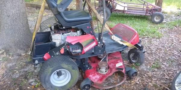 Photo ZTS 6000 Craftsman Zero Turn Mower - $450 (Ridgeland)