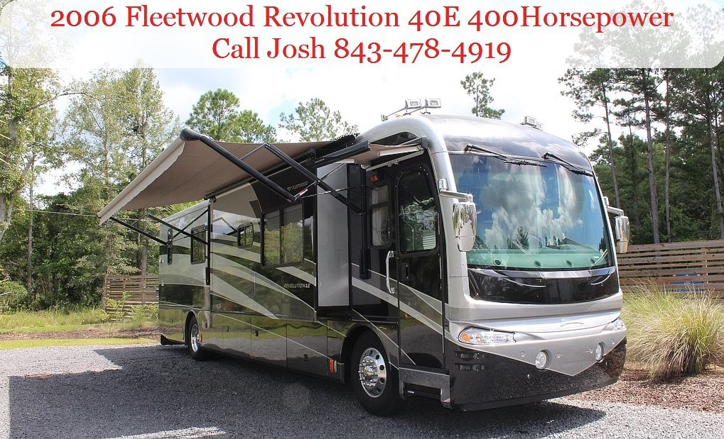 Photo Used 2006 Fleetwood Class A RV  $104900