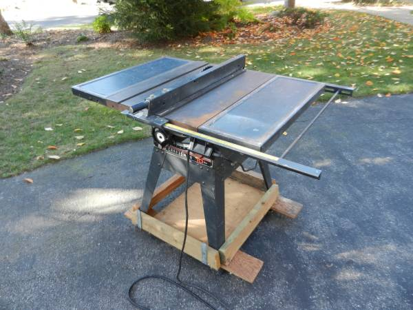 Photo 10quot Sears Craftsman electric TABLE SAW - $100 (Saugatuck)