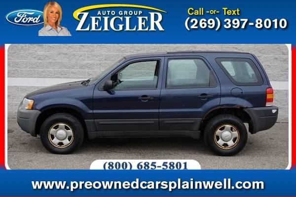 Photo 2003 Ford Escape XLS - $2,500 (_Ford_ _Escape_ _SUV_)
