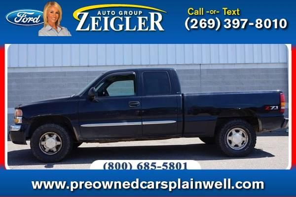 Photo 2003 GMC Sierra 1500 SLE Z71 Off Road Pkg - $7,110 (_GMC_ _Sierra 1500_ _Truck_)