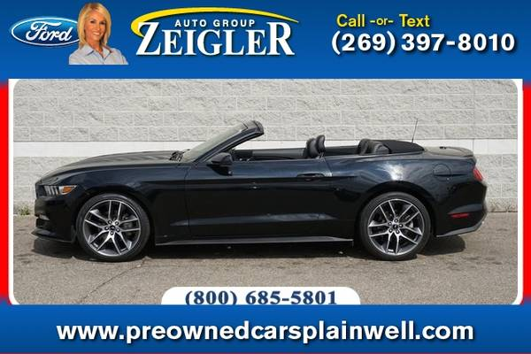 Photo 2015 Ford Mustang EcoBoost Premium - $27,560 (_Ford_ _Mustang_ _Convertible_)