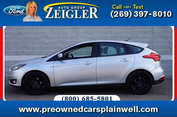 Photo 2016 Ford Focus SE - $12990 (_Ford_ _Focus_ _Hatchback_)