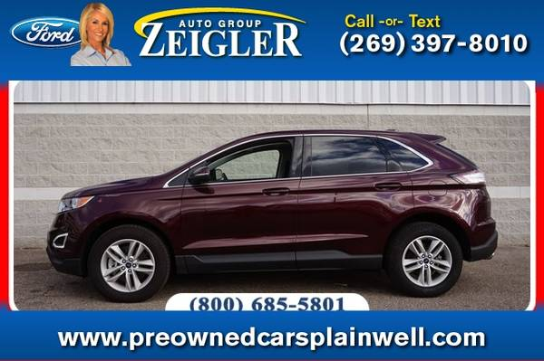 Photo 2017 Ford Edge SEL Tech Pkg - $28,990 (_Ford_ _Edge_ _SUV_)