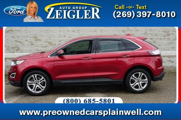 Photo 2017 Ford Edge Titanium Tech Pkg - $24,670 (_Ford_ _Edge_ _SUV_)