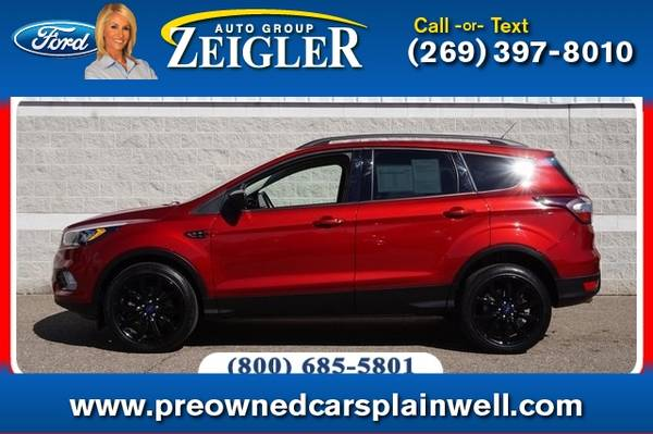 Photo 2017 Ford Escape SE Sport Tech Pkg - $22,990 (_Ford_ _Escape_ _SUV_)