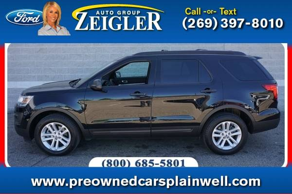 Photo 2017 Ford Explorer 4X4 - $26,960 (_Ford_ _Explorer_ _SUV_)