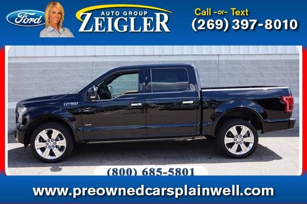 Photo 2017 Ford F-150 Limited - $47,777 (_Ford_ _F-150_ _Truck_)