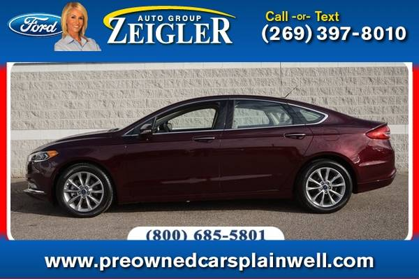 Photo 2017 Ford Fusion SE Luxury Tech Pkg - $19,500 (_Ford_ _Fusion_ _Sedan_)