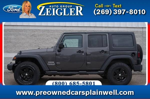 Photo 2017 Jeep Wrangler Unlimited Unlimited Sport - $24990 (_Jeep_ _Wrangler Unlimited_ _SUV_)